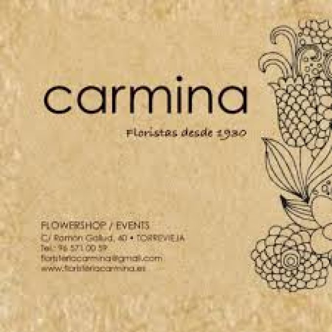 FLORISTERIA CARMINA