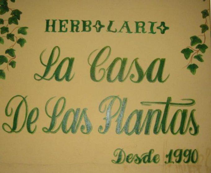 LA CASA DE LAS PLANTAS